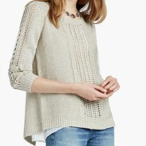 Lucky Brand • Knit Lined Sweater